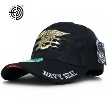 HAN WILD Marca Navy Baseball Cap Tactical Hats Fuerzas Especiales SEALs Caps Canvas Nuevo Army Bone Aba Curva Ajustable Para Hombres Mujeres