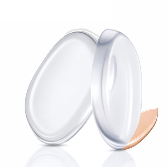 1Pc/2Pcs Jelly Silicone Sponge Puff Face Blender Foundation BB Cream Makeup Puff  Comestics Silisponge Puff Beauty Makeup Tool