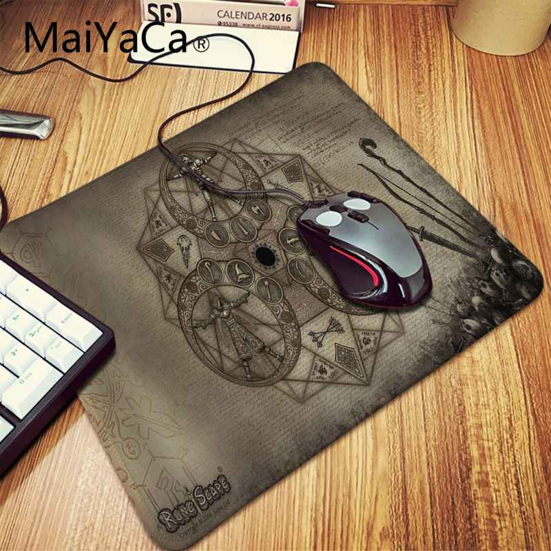 Maiyaca Simple Design runescape Keyboard Gamer Gaming Mouse pads Computer  Laptop gaming Mouse Pad Table Mat