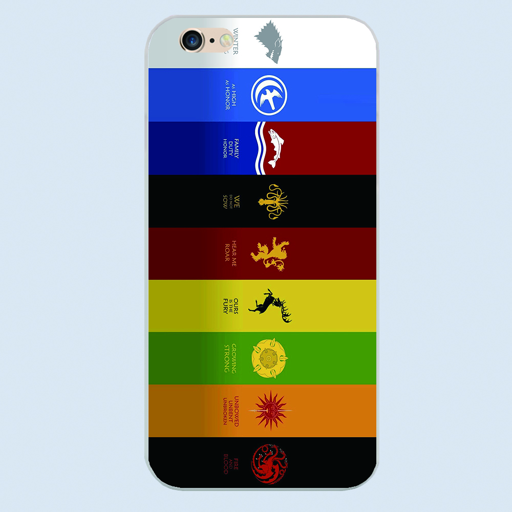 juego de tronos casa emblemas diseo caso de la cubierta del telfono para samsung galaxy j