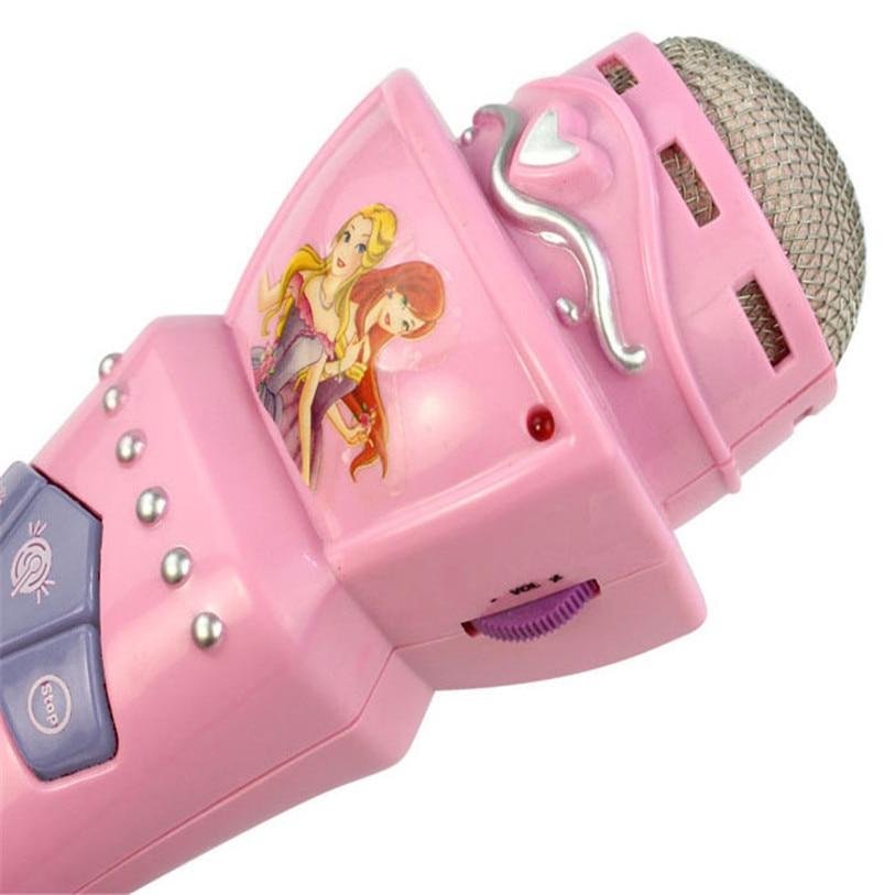 Brinquedo Instrumento Musical fio led microfone mic karaoke Quantidade : 1 Pcs