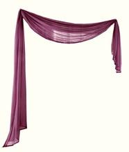 Offre spéciale multicolore Européenne cantonnière/écharpe rideau/rideaux sur mesure