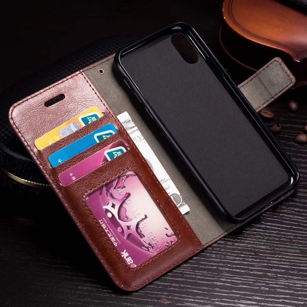 For iphone X 8 7 6 6S PU Leather Vintage Wallet Phone Cases for iPhone 5 5S SE Luxury Cover For iPhone 6plus 6Splus 7Plus 8Plus