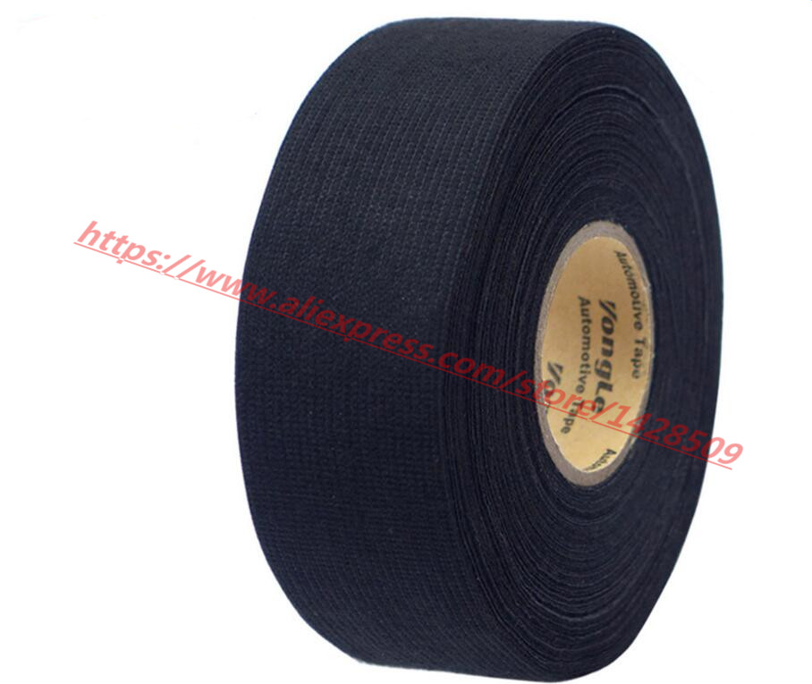 32mmx20m Universal Flannel fabric Cloth Tape automotive wiring harness Black Flannel Car Anti Rattle Self Adhesive 32mmx20m universal flannel fabric cloth tape automotive wiring cloth tape for wiring harness at edmiracle.co