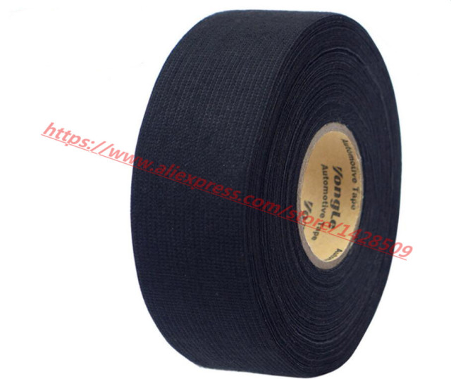 32mmx20m Universal Flannel fabric Cloth Tape automotive wiring harness Black Flannel Car Anti Rattle Self Adhesive_640x640 aliexpress com buy 32mmx20m universal flannel fabric cloth tape universal automotive wiring harness at bayanpartner.co