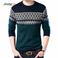 Covrlge New Male Sweater 2017 Autumn Winter Fashion O Neck Pullover Casual Slimfit Mens Wool Knitted