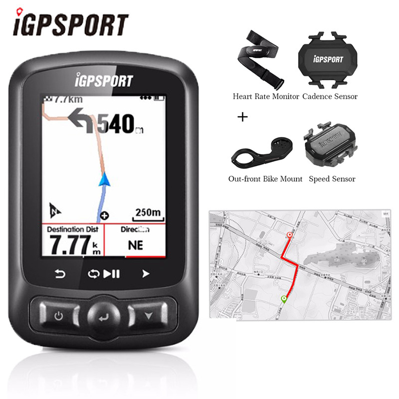 IGPSPORT ANT GPS Bike Computer IGS618E Bluetooth Speedometer Wireless Waterproof Bicycle Digital Stopwatch Cycling Accessories