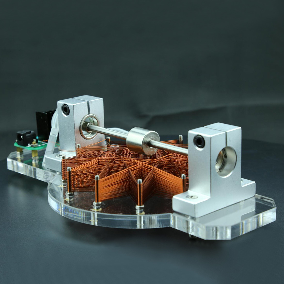 STARK 41 High Speed Magnetic Motor Brushless Hall Electric Machine Physical Experiment Model Building Kits Toys For Kids Adults