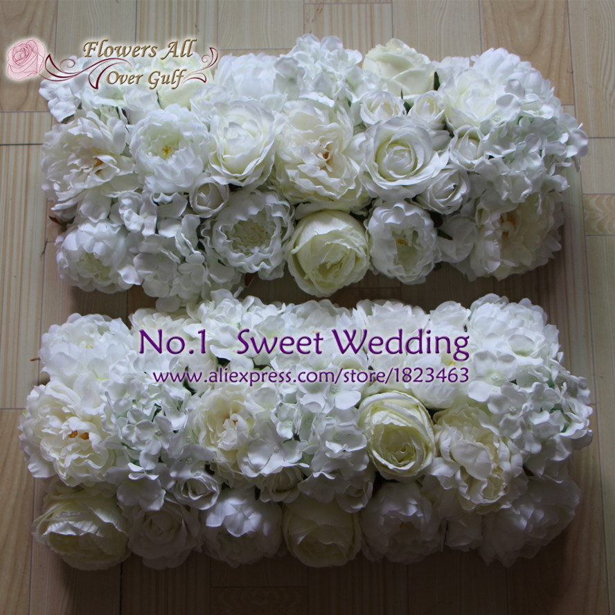 flowers all over gulf artificial rose and hydrangea wedding ...