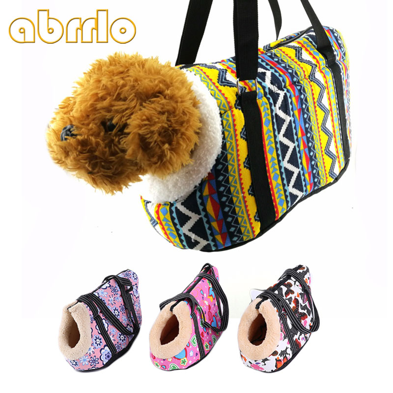 Abrrlo Dog Bag Classic Pet Carrier For Small Dog Chihuahua Comfort Travel Kitten Backpack Puppy Cat Dog Bags Outdoor Pet Supply