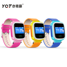 YQTสีหน้าจอQ60สมาร์ทเด็กGPS Watchนาฬิกาข้อมือGPS/GSMแบบdual-วิธีโทรSOS L Ocatorติดตามสำหรับเด็กเด็กต่อต้านหายไปตรวจสอบ