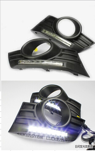 Free shipping LED Daytime Running Light H3 Hover Great Wall HAVAL Daylight Auto DRL Car Fog
