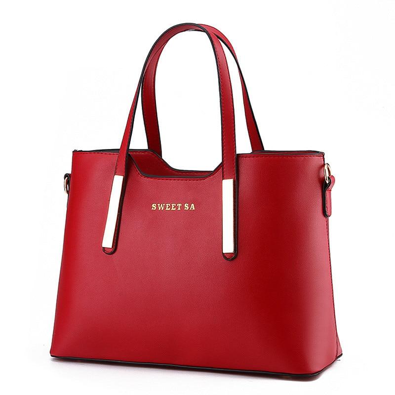 women bag Fashion Casual women 39 s handbags Luxury handbag Designer Shoulder bags new bags for women 2019 Korea Style bolsos mujer in Top Handle Bags from Luggage amp Bags