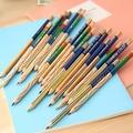 10 шт./лот карандаш всех цветов радуги 4 в 1 цветные карандаши для рисования канцелярские принадлежности - фото