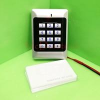 Di alta qualità e ad alta sicurezza Sicurezza RFID Di Prossimità Entrata Serratura Sistema di Controllo Accessi 500 Utente + 10 Rfid bianco carta