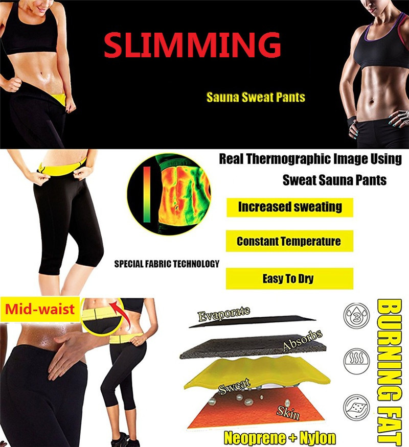da2822f2532 NINGMI Slimming Pants Women Neoprene Sauna Suit Control Panties Weight Loss  Hot Sweat Waist Trainer Body Shaper Shorts Keep Warm-in Control Panties  from ...