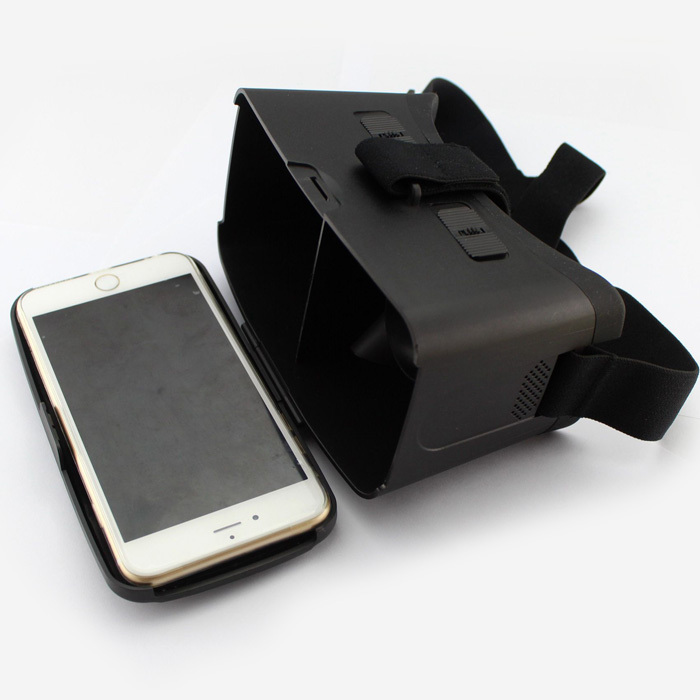 US $17 99 |GYD Mobile Phone 3D Google VR Glasses Cardboard virtual reality  3D Movie Game Glasses for iPhone 6 PLUS 4 5 5