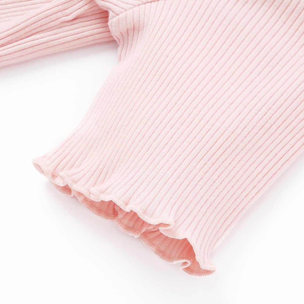 BalabalaChildren che coprono le ragazze a maniche corte T-Shirt del bambino mezza manica di estate 2019 nuovo a righe t-shirt per bambini tshirt