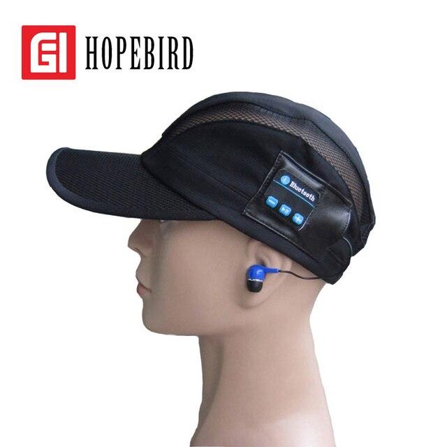 Лето Весна Bluetooth Hat Бейсболка Отдых на природе 2017 Спорт Музыка Работает Телефон Крышки