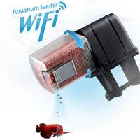 Автоматическая подача рыбы WiFi программируемое умное устройство с App контролируемым диспенсером для аквариума @ DC05 для Прямая поставка