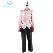 Tokyo Ghoul Juzo Suzuya / Rei Casual Shirt Pants Outfit Overalls Halloween Cosplay Costumes Adult Men Women Custom Made