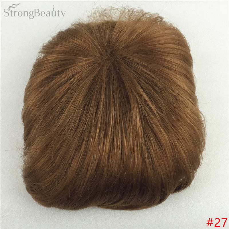 Сильная красота парик синтетические волосы парик выпадение волос топ кусок парики 36 цветов на выбор - Цвет: #27