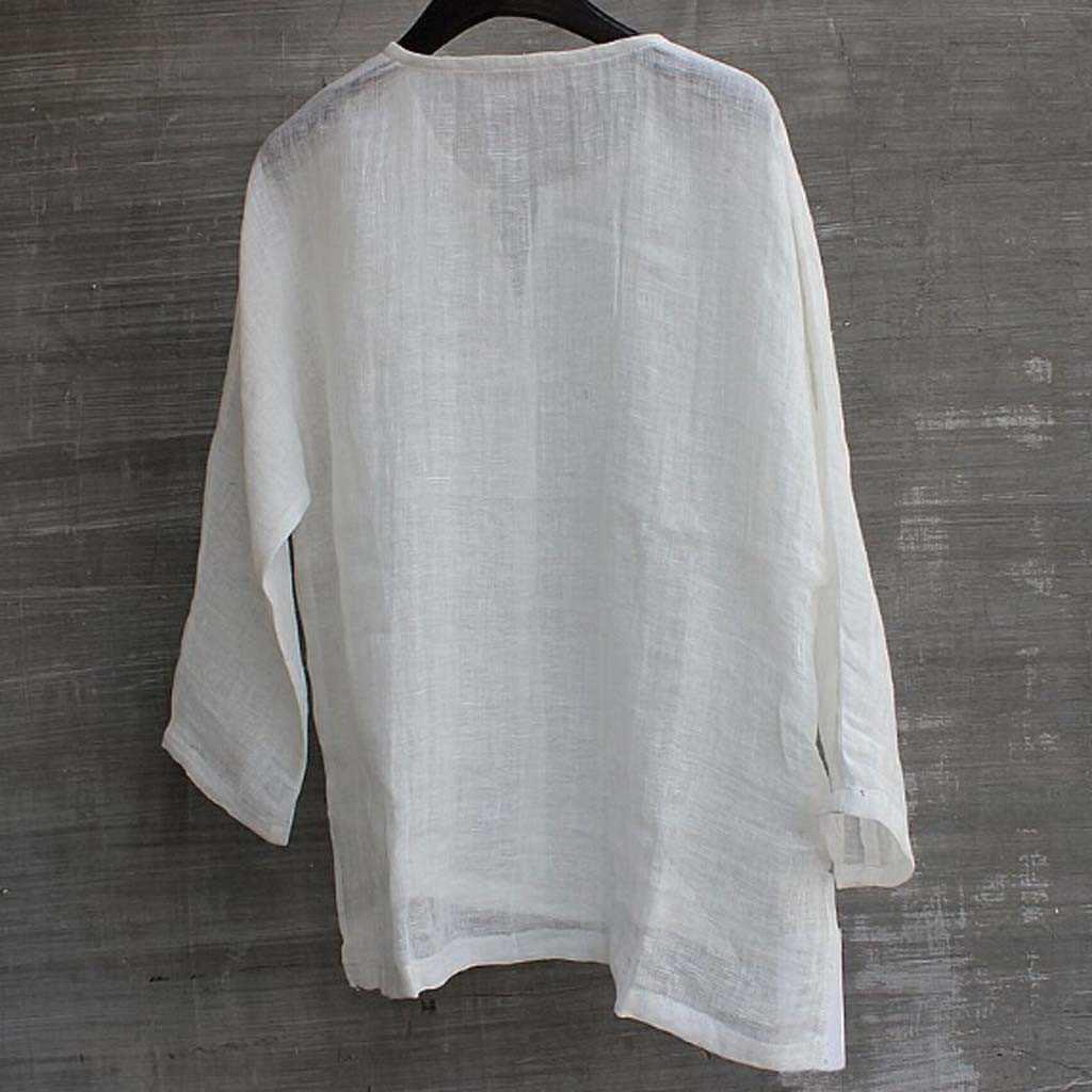 Повседневные мужские рубашки с длинным рукавом Camisa, мужская рубашка, короткая, дышащая, удобная, одноцветная, свободная блузка, топ, уличная одежда, Camisa masculina