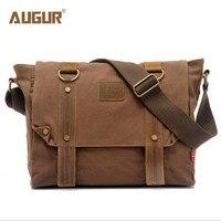 AUGUR new men canvas bag men shoulder bag Messenger bag foreign trade canvas bag