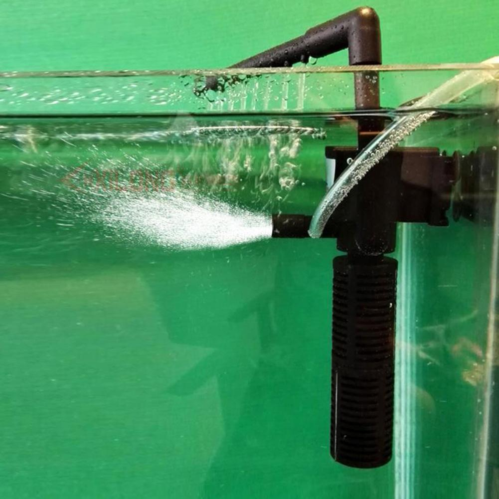 Boyu aquarium fish tank external filter canister ef 05 - 1x Small Fish Tank Low Water Turtle Filter Spray Bar Venturi Aquarium Filter Pjw