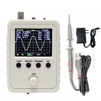 New Assembled DSO150 Digital Oscilloscope With P6020 Probe 9V 1A Power Adapter