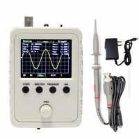 Nuevo osciloscopio Digital ensamblado DSO150 con sonda P6020 adaptador de corriente 9V 1A