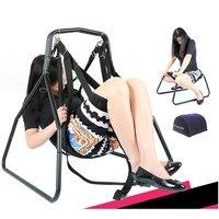 New Sex Swing Chair Pillow Adjustable Restraints Fetish Sex Position Bondage Nylon Flirt Essential Adult Sex Furniture