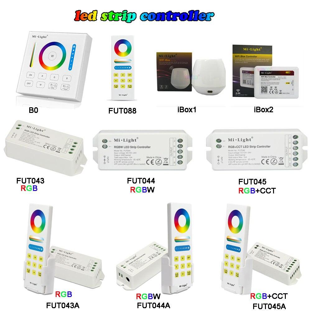 Cct Led Streifen Controller Wifi Smart Panel Fern Schalten Off Licht Ti Mi Ng Dimmer Dc12v-24v Mi Licht 2,4g Wireless Rgb/rgbw/rgb