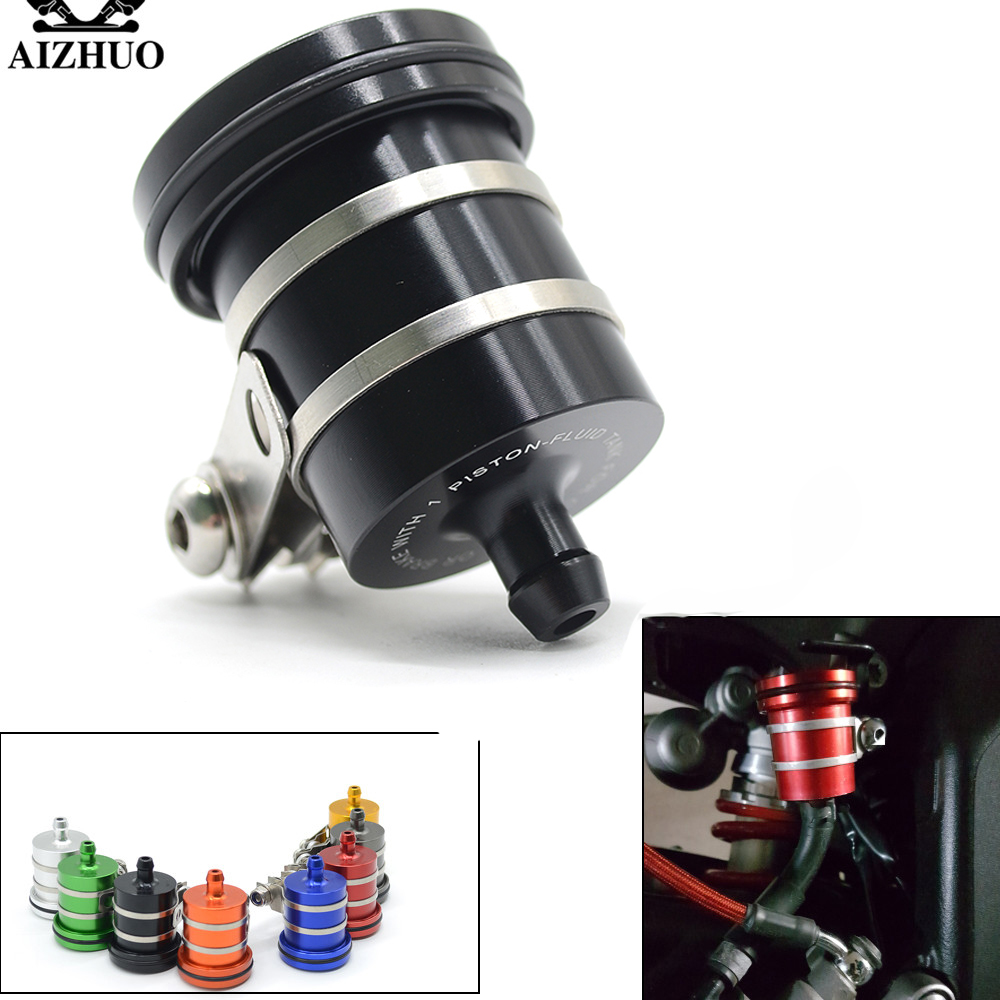 Universal Motorcycle Brake Fluid Reservoir Clutch Tank Oil Fluid Cup For honda GSXR 600 MSX125 msx300 yamaha TMAX 500 ZX-6R Z750