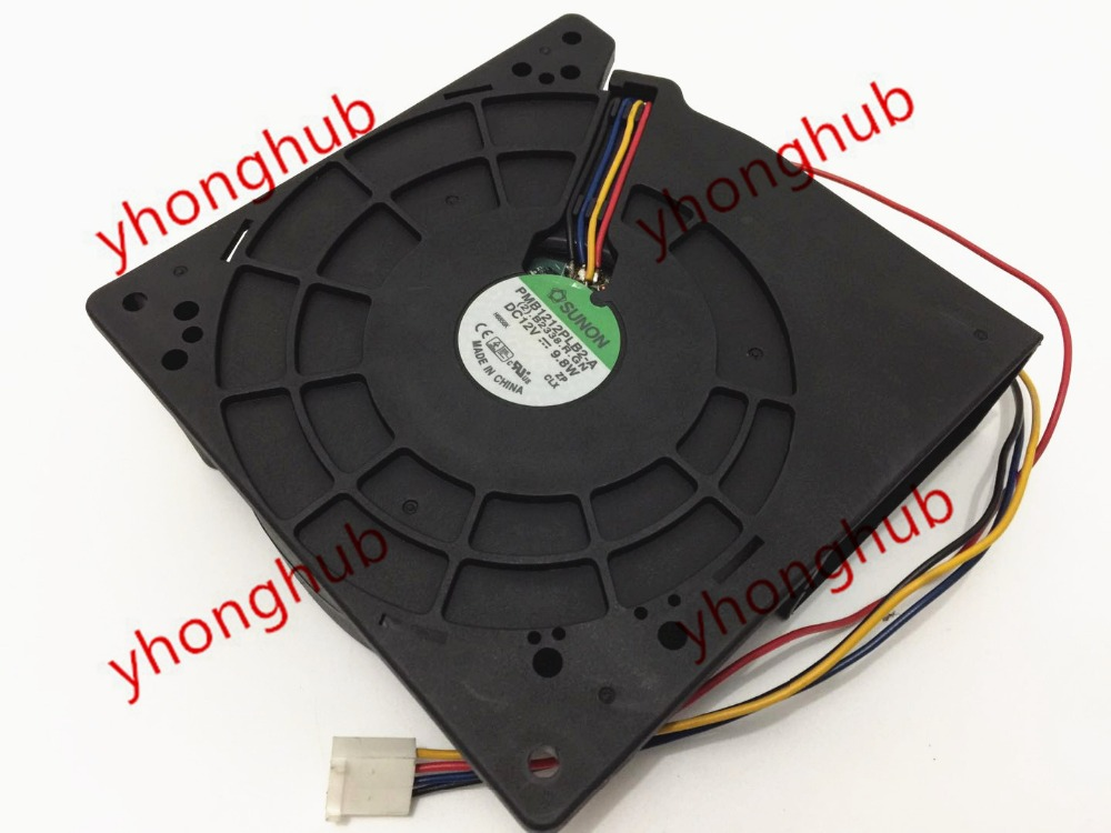 SUNON PMB1212PLB2 A 2 B2338 R GN Server Cooler Fan DC 12V 9 8W 120x120x38mm 4
