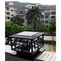 D30 * H25cm светодиодная уличная садовая лампа на солнечных батареях  декоративная лампа для столба  перезаряжаемая Солнечная лампа для сада  бе...