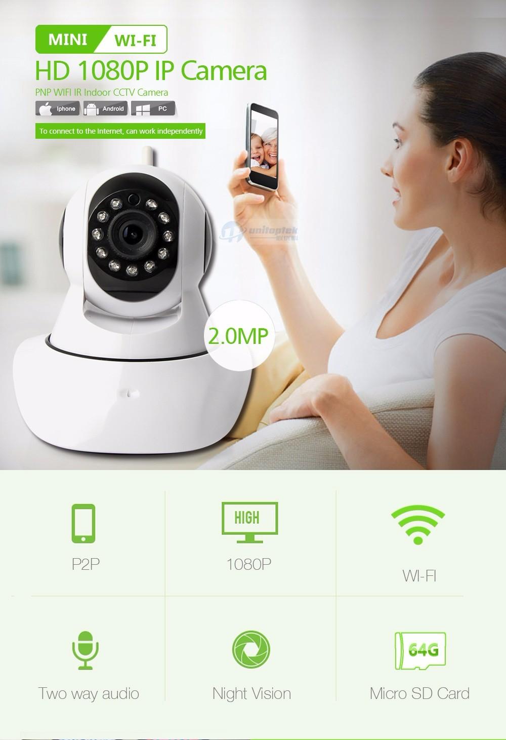 01 PTZ Wifi Camera