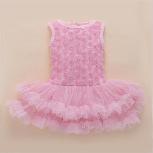Party & Birthday Dress For 1-2 years Baby Girl Shoes+Gown 5