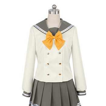 lovelive sunshine Aqours Tsushima Yoshiko Cosplay Costume Japanese Anime Love live Girl Sailor School Uniform Suit Clothes