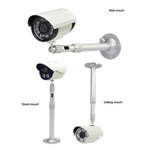Image 4 - G. handwerker Halterung Unterstützung CCTV Kamera Wand Halterung Stehen Aluminium Metallic Indoor Outdoor 20 40cm Halterung Zubehör S002