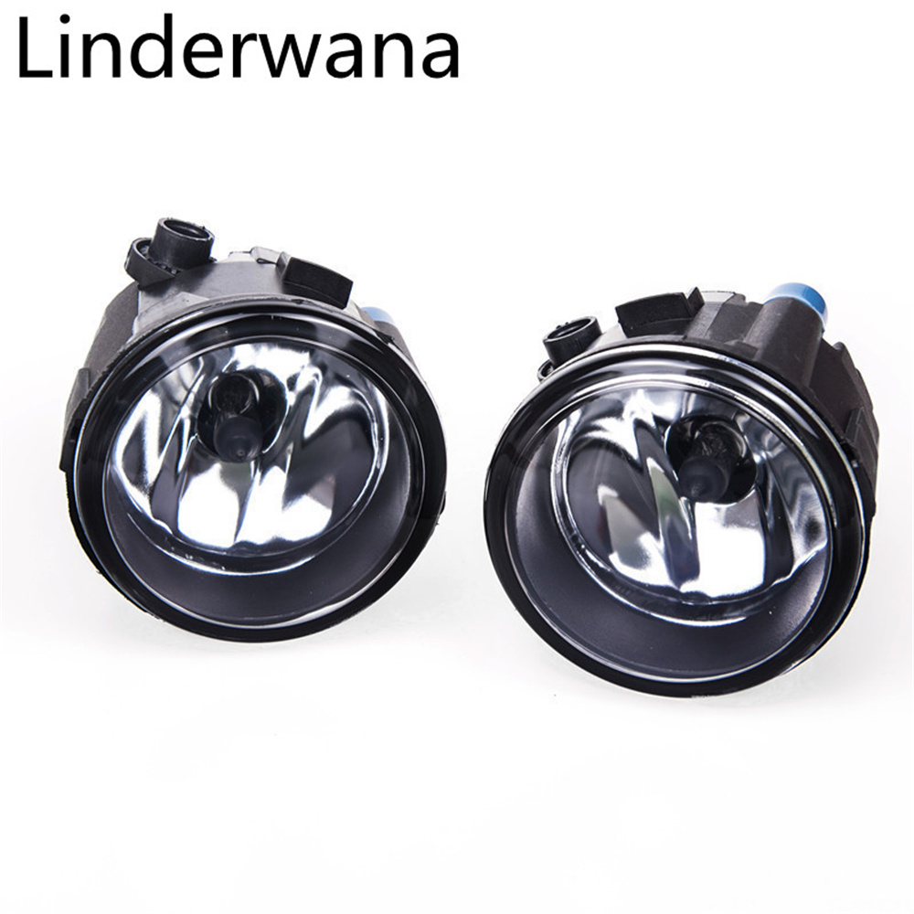 Fog Lamp Assembly Super Bright Fog Light For Nissan Juke Hatchback 2010-2014 Halogen Fog Light 55W 2Pcs