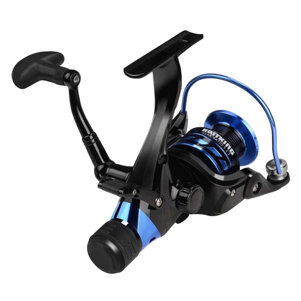 KastKing Pontus عالية التكلفة الأداء نظام السحب الأمامي والخلفي 9 كجم ماكس السحب الصيد بكرة 9 + 1 الكرات الغزل بكرة