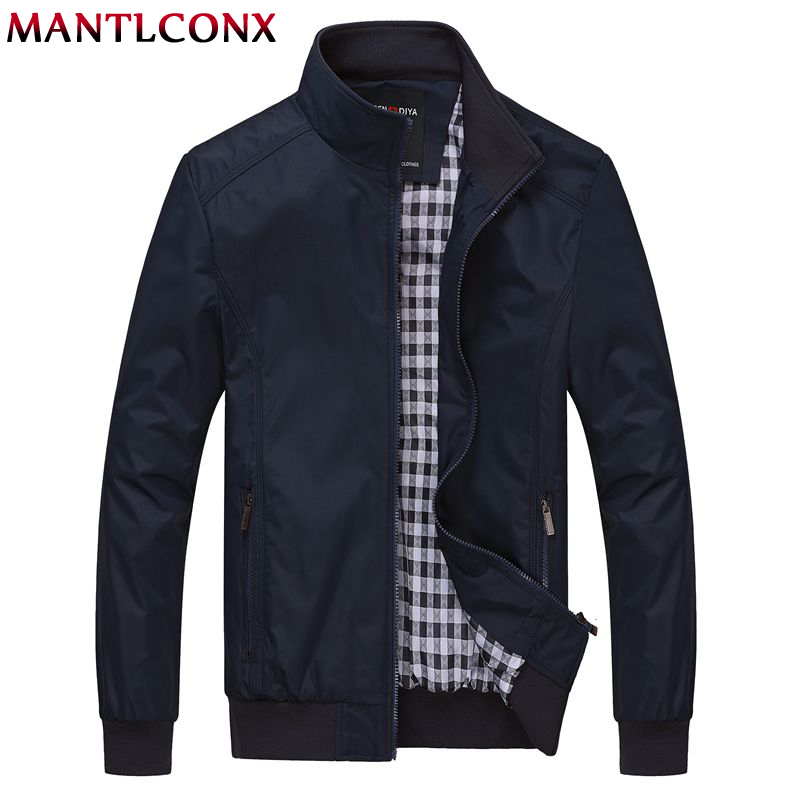 Mantlconx 2019 Men's Jackets Plus Size 6xl Men's New Casual Jacket Loose Mens Jacket Sportswear Outdoors Bomber Coat Men Spring