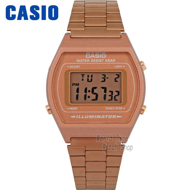 Casio Sports leisure electronic stainless steel men watch B640WC-5A