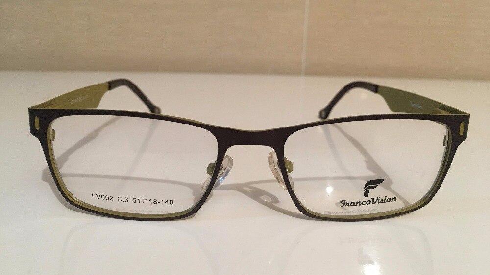 Hombre square gafas marcos bueno para redondo, oval, corazón cara ...