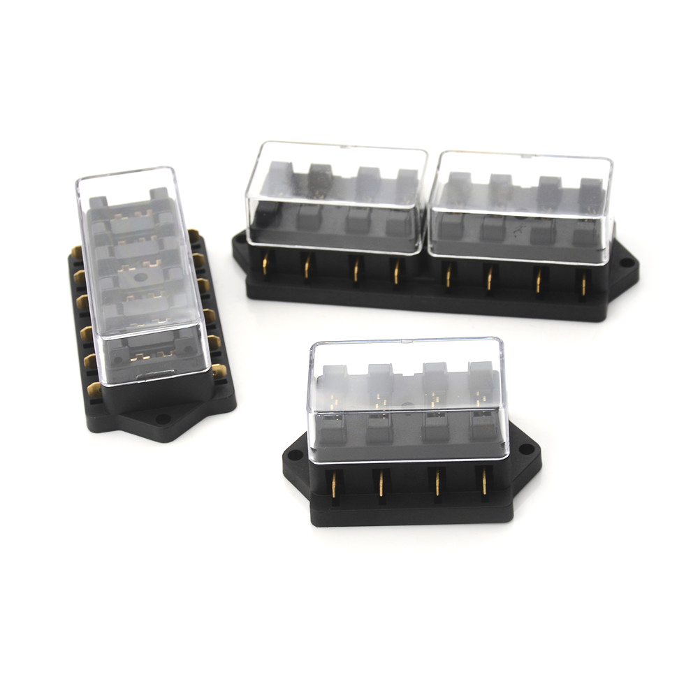 4 6 8 Way Car Vehicle Circuit Automotive Blade Fuse Box Varied Flat Plate Accessory In Fuses From Home Improvement On