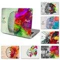 """6 patrones Del Ordenador Portátil Superior de Vinilo Sticker Decal Para Macbook Delantero Completo izquierda y Derecha Del Cerebro de La Piel para el Aire Retina Pro 11 """"12"""" 13 """"15"""""""