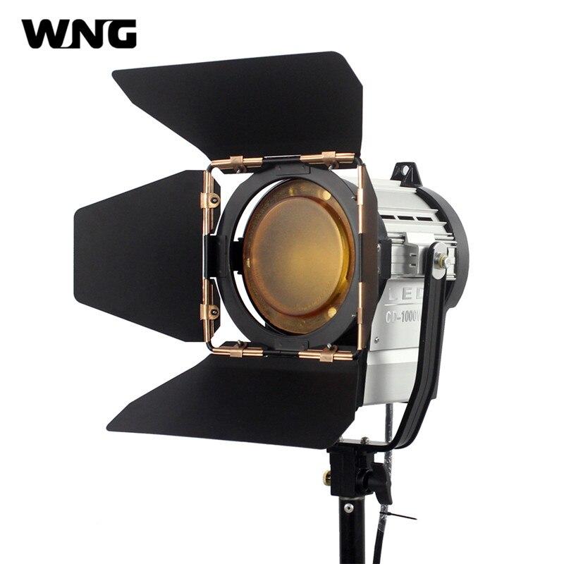 100 W LED Spot Light Dimmable Spotlight Studio Fresnel LED Lumière 3200 K/5600 K pour Studio Photo Vidéo éclairage Projecteurs
