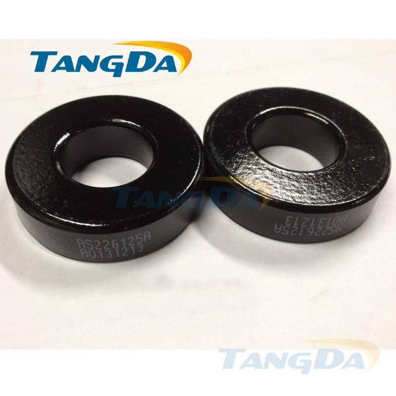 Tangda sendust FeSiAl toroidal cores inductor OD*ID*HT 58*25*16 mm AL: 287nH/N2 Ue: 125 AS226125A CS571125 77195-A7
