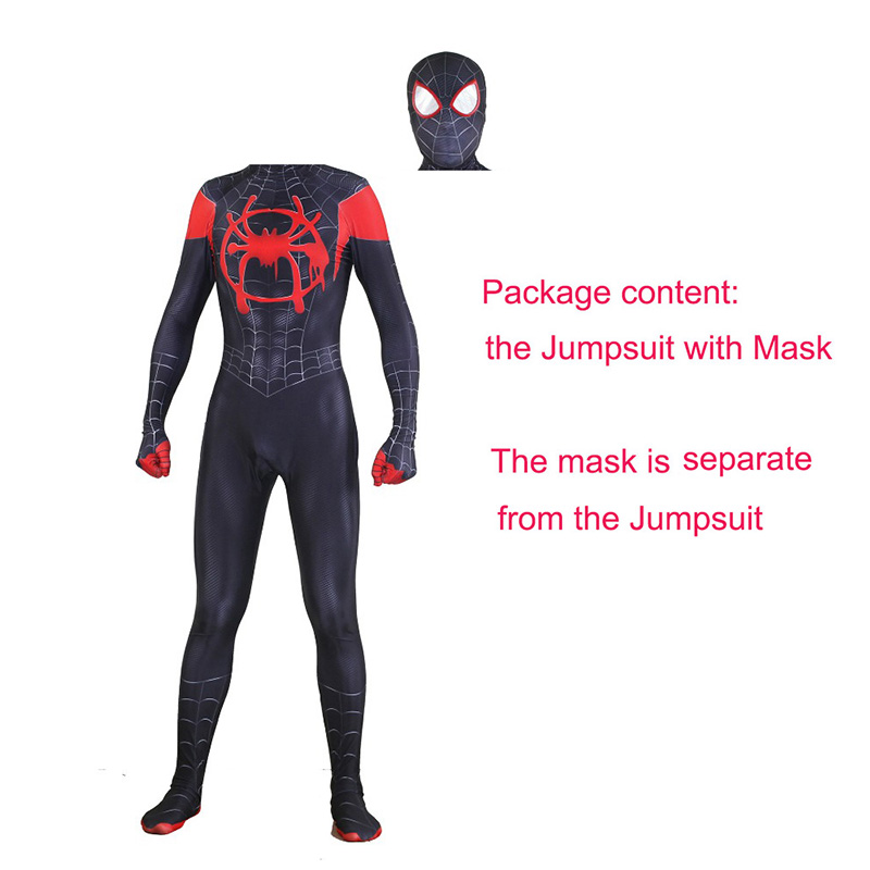 Us 28 28 13 Off New Spider Man Far From Home Cosplay Costumes Peter Parker Zentai Suit Bodysuit Adult Kids Spiderman Superhero Ball Jumpsuits In